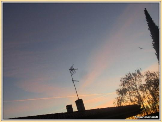 linee, striscie, tramonto©